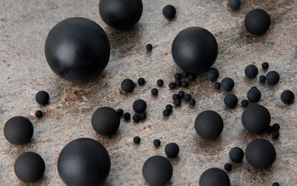 Precision rubber balls supplier | Products